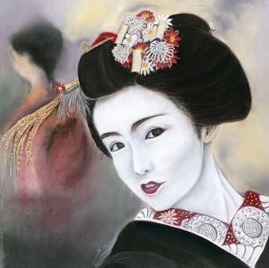 Geisha Noire by Béatrice Hallier