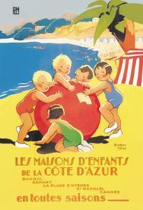 Les Maisons D'Enfants De La Cote D'Azur by Beatrice Mallet