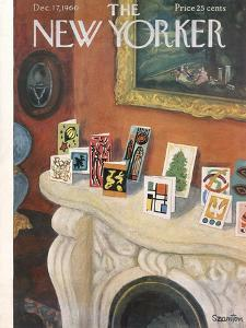 The New Yorker Cover - December 17, 1960 by Beatrice Szanton