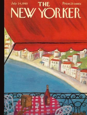 The New Yorker Cover - July 24, 1965 by Beatrice Szanton