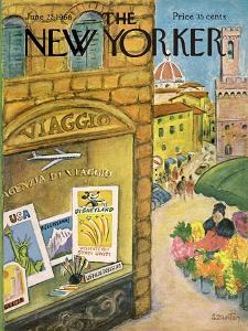 The New Yorker Cover - June 22, 1968 by Beatrice Szanton