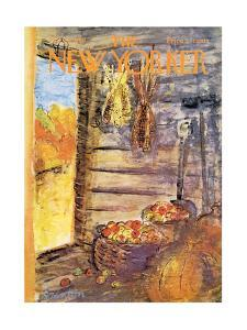 The New Yorker Cover - October 25, 1969 by Beatrice Szanton