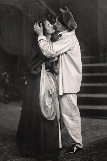 Beatrice Terry and H. Marsh Allen in the Palace of Puck, 1907--Photographic Print