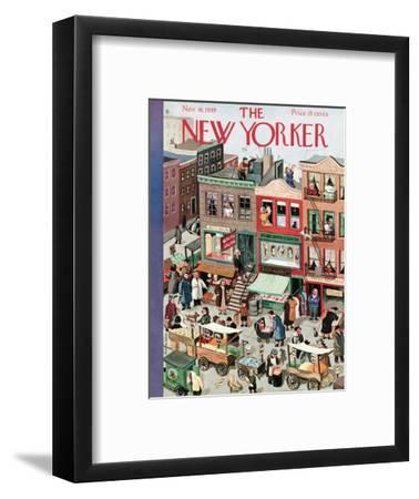The New Yorker Cover - November 18, 1939