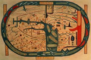 Beatus Mappamundi, 8th Century