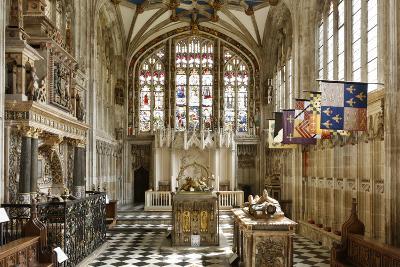 Beauchamp Chapel, the Collegiate Church of St Mary, Warwick, Warwickshire, 2010-Peter Thompson-Photographic Print