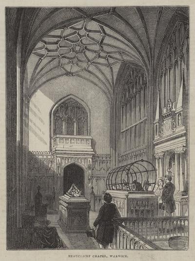 Beauchamp Chapel, Warwick--Giclee Print