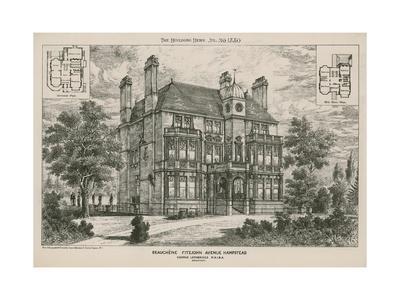 Beauchene, Fitzjohn Avenue, Hampstead--Giclee Print