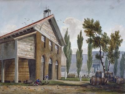 Beaufoy's Vinegar Works on the Site of Cuper's Gardens, Lambeth, London, 1809-George Shepherd-Giclee Print