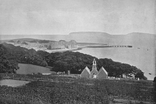 'Beaumaris - Looking Towards The Landing-Stage', 1895-Unknown-Photographic Print