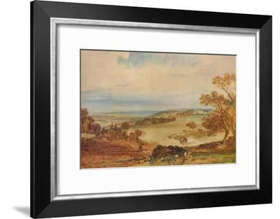 'Beauport, near Bexhill', 1810-JMW Turner-Framed Giclee Print