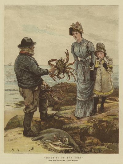 Beauties of the Deep-Arthur Hopkins-Giclee Print