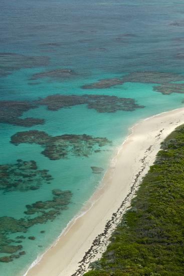Beautiful and Empty Beaches Along the Coast of Cat Island, Bahamas-Jad Davenport-Photographic Print