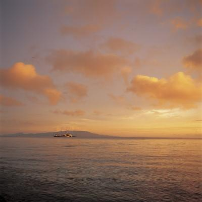 Beautiful and Peaceful Sunset over a Sea--Photographic Print