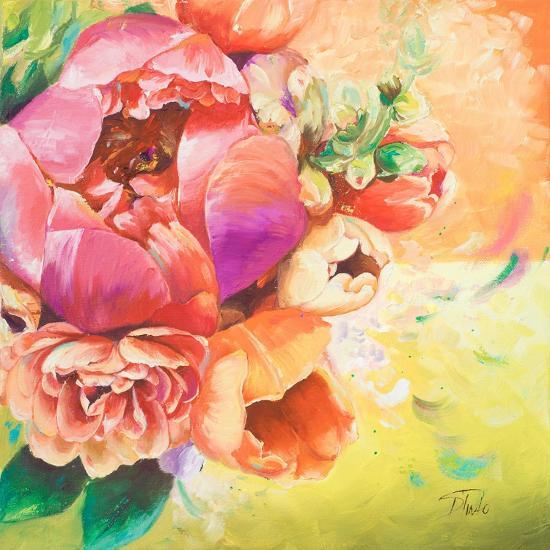 Beautiful Bouquet of Peonies I-Patricia Pinto-Art Print