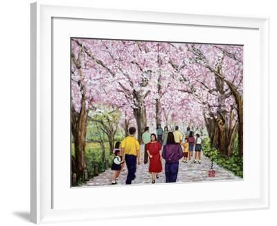 Beautiful Bright Spring Day, 1994-Komi Chen-Framed Giclee Print