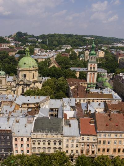 Beautiful City of Lviv, Ukraine-Bill Bachmann-Photographic Print