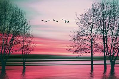 Beautiful Colorful Natural Landscape.-Eva Bidiuk-Art Print