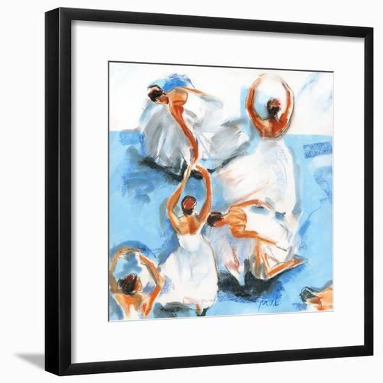 Beautiful Dancers 15-Mark Van Crombrugge-Framed Art Print