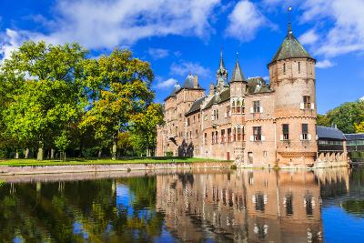 Beautiful De Haar Castle, Holland-Maugli-l-Photographic Print