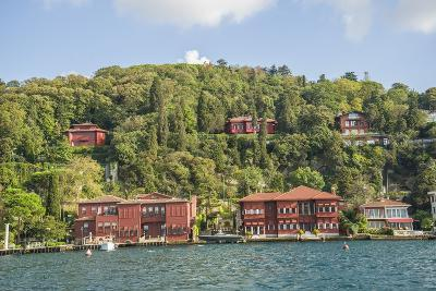 Beautiful Houses along Bosporus-Guido Cozzi-Photographic Print