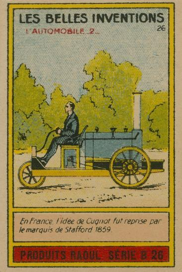 Beautiful Inventions Card, Automobile--Giclee Print