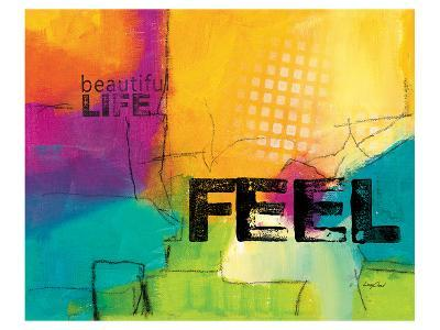Beautiful Life-Lucy Cloud-Art Print