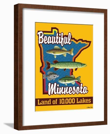 Beautiful Minnesota-Mark Frost-Framed Premium Giclee Print