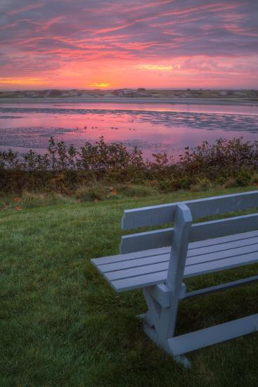 Beautiful Morning View, Mainer Coast-Vincent James-Photographic Print