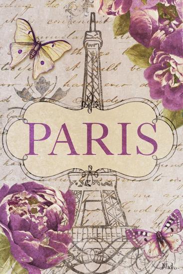 Beautiful Peonies in Paris-Patricia Pinto-Art Print