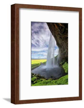 Beautiful Seljalandsfoss Morning, Southern Coast Iceland-Vincent James-Framed Photographic Print