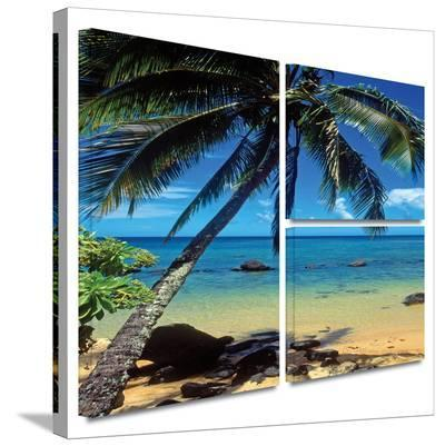 Beautiful Smini Beach Gallery-Wrapped Canvas-Kathy Yates-Gallery Wrapped Canvas Set
