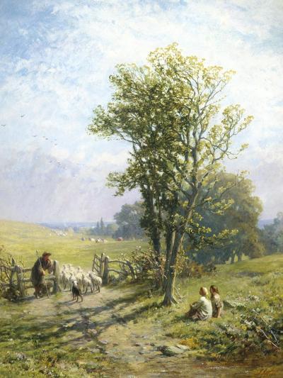 Beautiful Summer's Day-James John Hill-Giclee Print