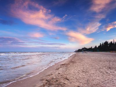 Beautiful Summer Sunset at the Sea-denbelitsky-Photographic Print