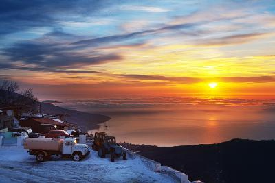 Beautiful Sunrise in the Ay-Petry. Crimea Mountains. Ukraine.-Volff-Photographic Print