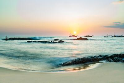 Beautiful Sunset in Khao Lak Thailand-Remy Musser-Photographic Print