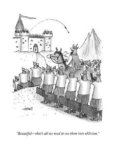 """""""Beautiful?that's all we need to sue them into oblivion."""" - New Yorker Cartoon"""