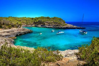 Beautiful Turquoise Bays In Stunning Mallorca-Maugli-l-Photographic Print