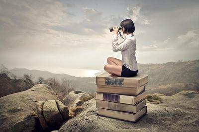 https://imgc.artprintimages.com/img/print/beautiful-woman-sitting-on-a-pile-of-old-books-watching-with-binoculars_u-l-pn0uzy0.jpg?p=0