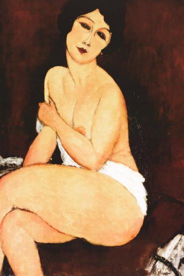 Beautiful Woman-Amedeo Modigliani-Art Print