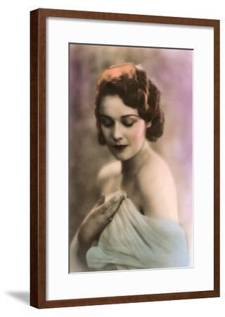 Beautiful Woman--Framed Art Print