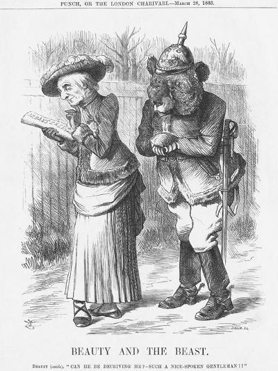 Beauty and the Beast, 1885-Joseph Swain-Giclee Print