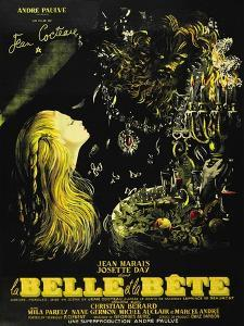 """Beauty And the Beast, 1946, """"La Belle Et La Beïte"""" Directed by Jean Cocteau"""