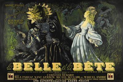 Beauty and the Beast, 1946 (La Belle Et La Beïte)--Giclee Print