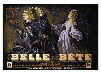 Beauty and the Beast, 1946--Art Print