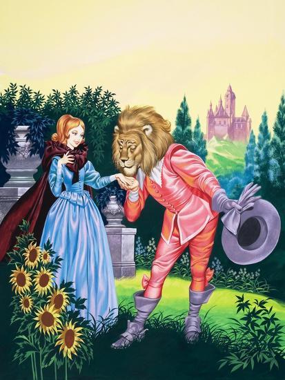 Beauty and the Beast-Ron Embleton-Giclee Print