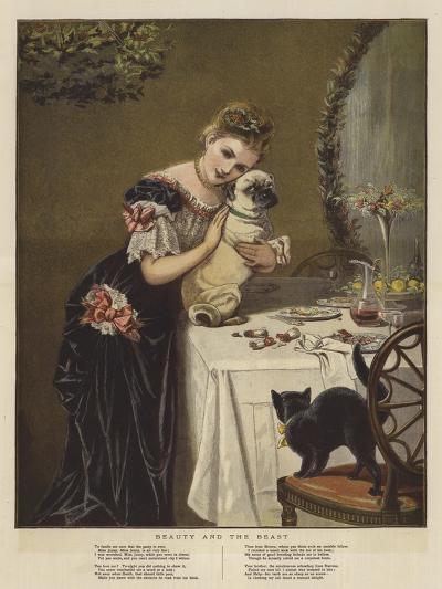 Beauty and the Beast--Giclee Print