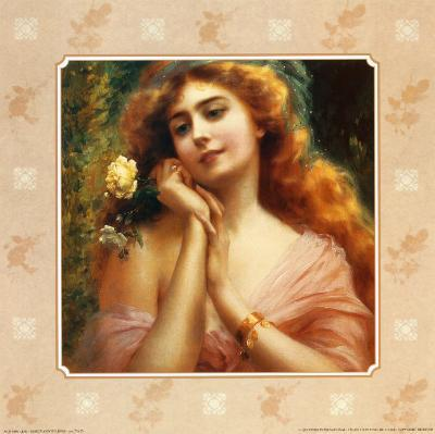 Beauty and the Rose I--Art Print