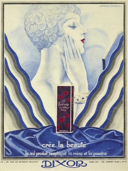 Beauty Cream-Vintage Apple Collection-Giclee Print