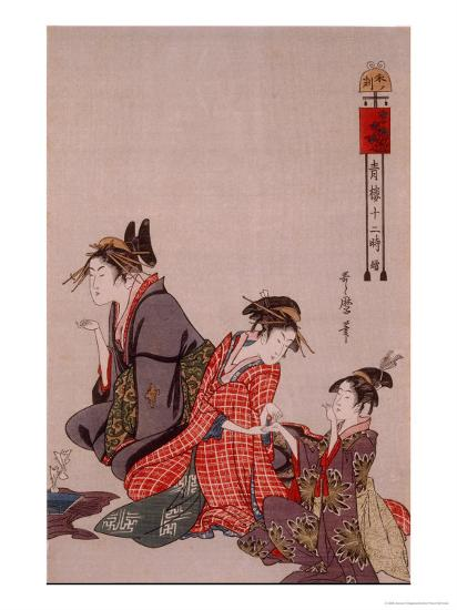 Beauty-Kitagawa Utamaro-Giclee Print